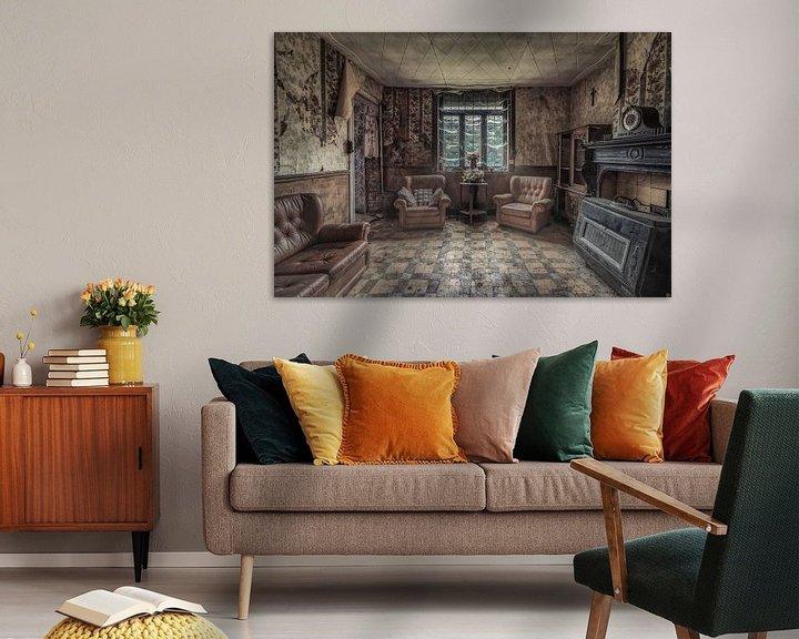 Beispiel: Wohnraum einer kleinen Farm von Monodio Photography