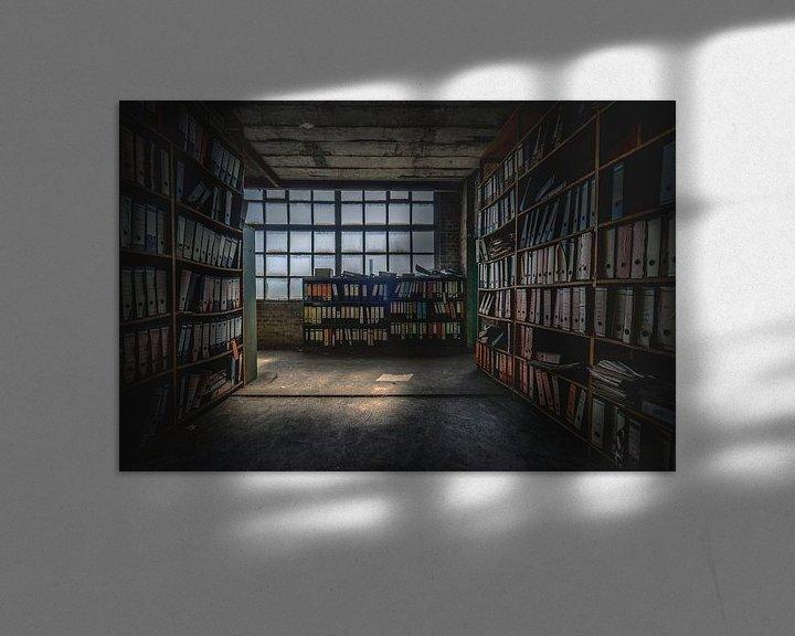 Beispiel: Das verlassene Archiv von Frans Nijland