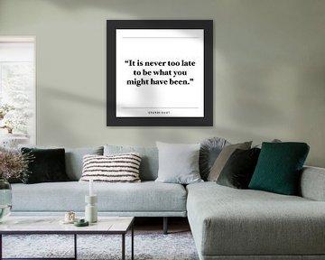 Inspiration Zitat | George Eliot von Kirsten Langmuur