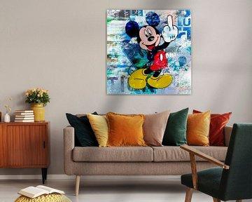 Mickey Finger von Rene Ladenius Digital Art