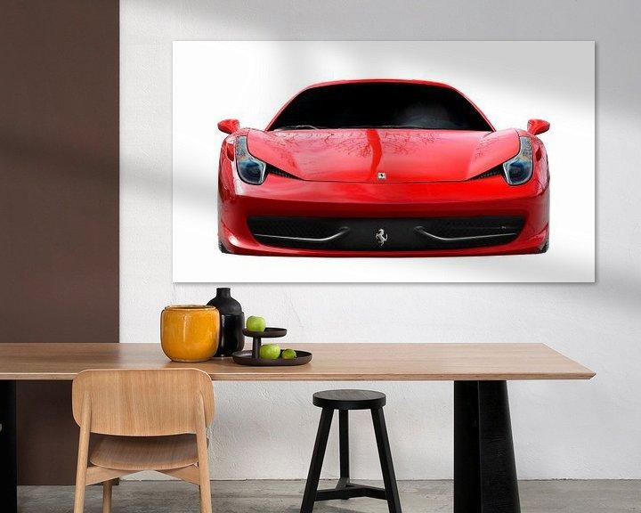 Impression: Ferrari 458 Italia sur aRi F. Huber