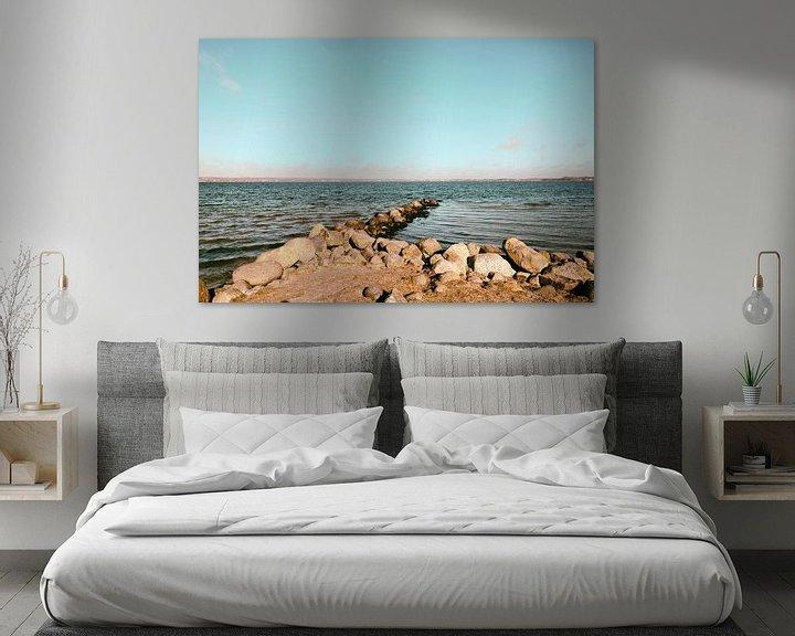 Beispiel: Buhne und Meer von Heiko Westphalen