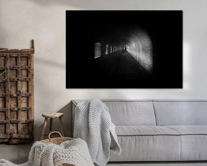 Sfeerimpressie: Licht in de Tunnel van Maikel Brands