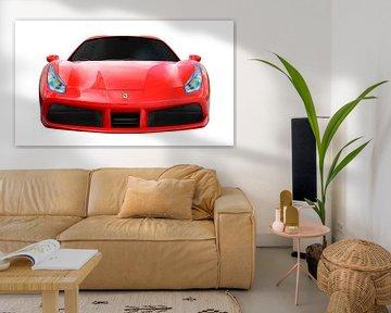 Ferrari 488 sur aRi F. Huber