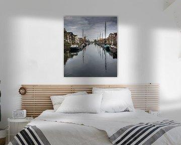 Delfshaven uitzicht in Rotterdam van Photography by Naomi.K