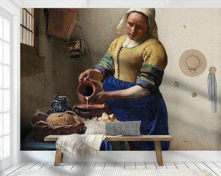 Beispiel fototapete: Das Milchmädchen von Eigenwijze Fotografie
