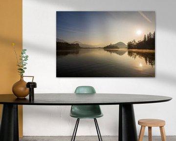 Lake Bled am frühen Morgen von Sonja Birkelbach