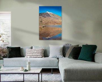 Vulkan Teide im Spiegel von Martin Wasilewski