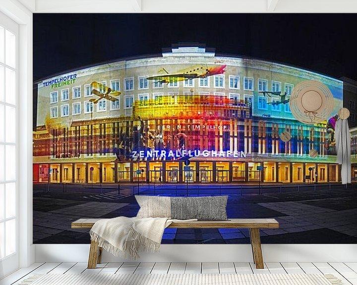 Beispiel fototapete: Flughafen Berlin Tempelhof von Frank Herrmann