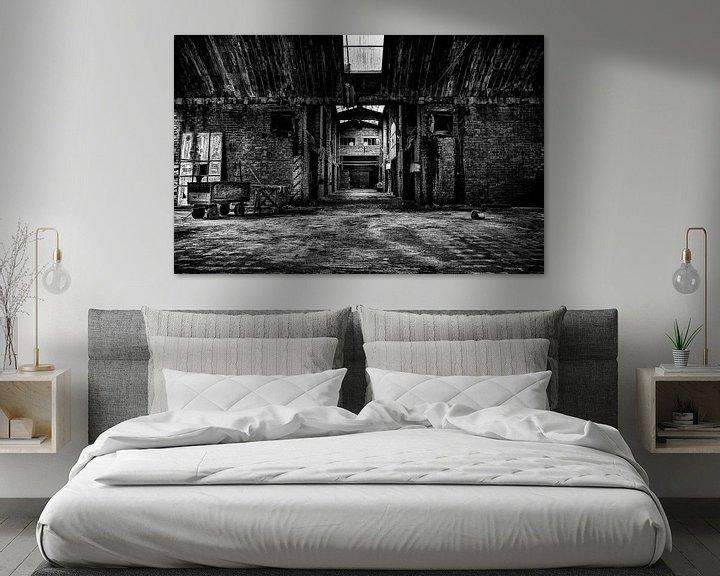 Sfeerimpressie: Leegstaande Baksteenfabriek van Eus Driessen