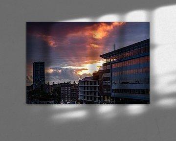 Zonnestralen in West van By Odessa DC