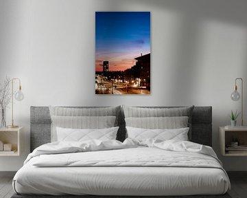 Zonsondergang met ster van By Odessa DC