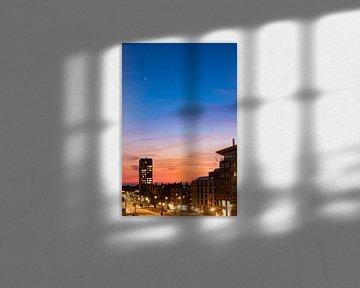Zonsondergang met ster (2) van By Odessa DC