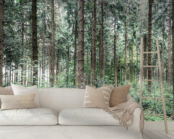 Impression: Dans les bois.. sur Miranda van Hulst