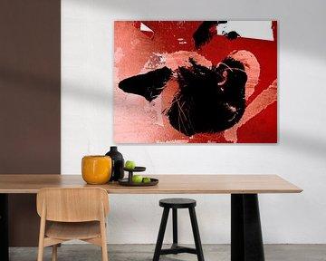 Kattenkunst - Mauro 1 von MoArt (Maurice Heuts)