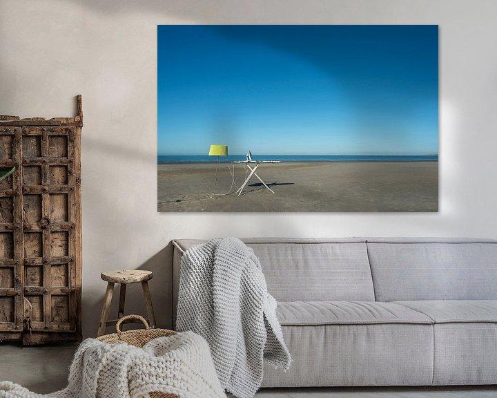 Sfeerimpressie: Strijken op het strand van Aline van Weert