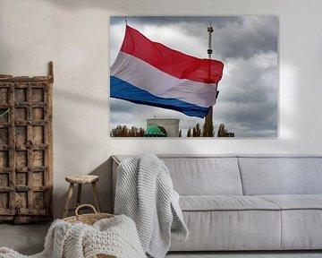 Dodenherdenking Rotterdam 2021 van GoingDutch