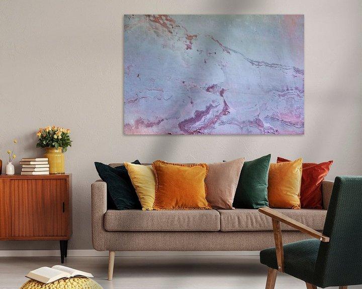 Beispiel: Urbane Wand - rosa und blau von -  BIMBO  -