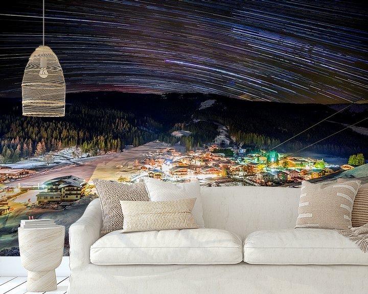 Sfeerimpressie behang: Filzmoos van Jordy Kortekaas
