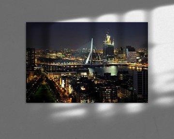 Rotterdam,sky-line. von Tilly Meijer