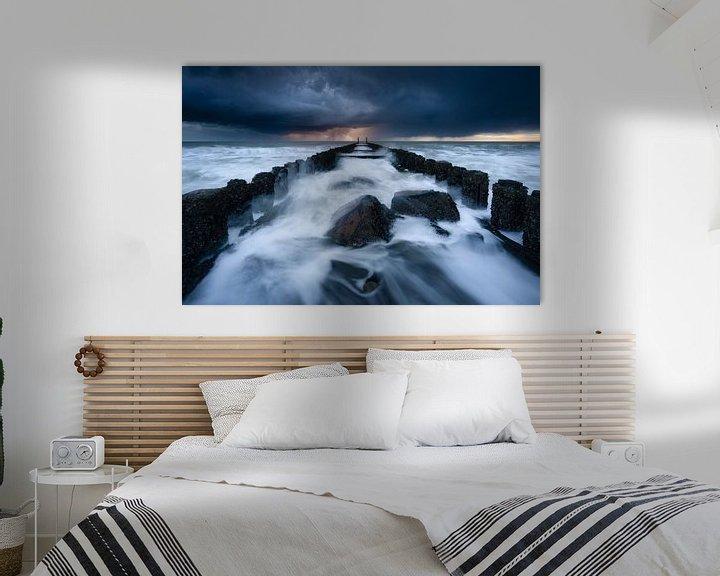 Beispiel: Stürme auf See von Ellen van den Doel