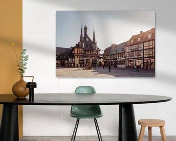 Marktplatz Wernigerode von Oliver Henze