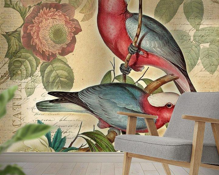 Beispiel fototapete: Zuhause im Paradies von christine b-b müller