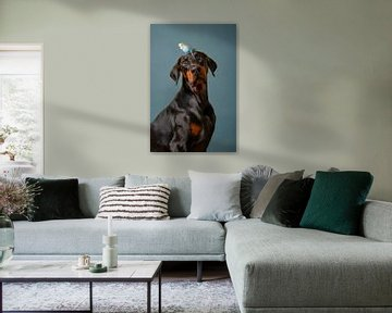 Hond Portret van Petri Vermunt