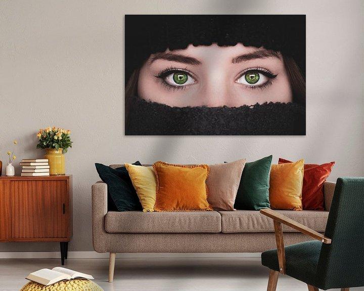 Sfeerimpressie: Groene ogen van Samantha Levolger