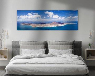 Eiland La Graciosa op Lanzarote van Markus Lange