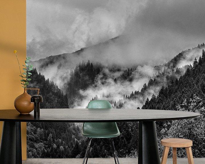 Beispiel fototapete: Alpen @ Sankt-Gallenkirch von Rob Boon