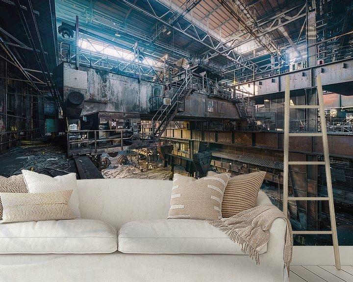 Beispiel fototapete: Industrielle Wanddekoration | Urbex Fotografie von Steven Dijkshoorn