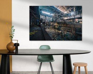 Industrieele wanddecoratie | Urbex Fotografie