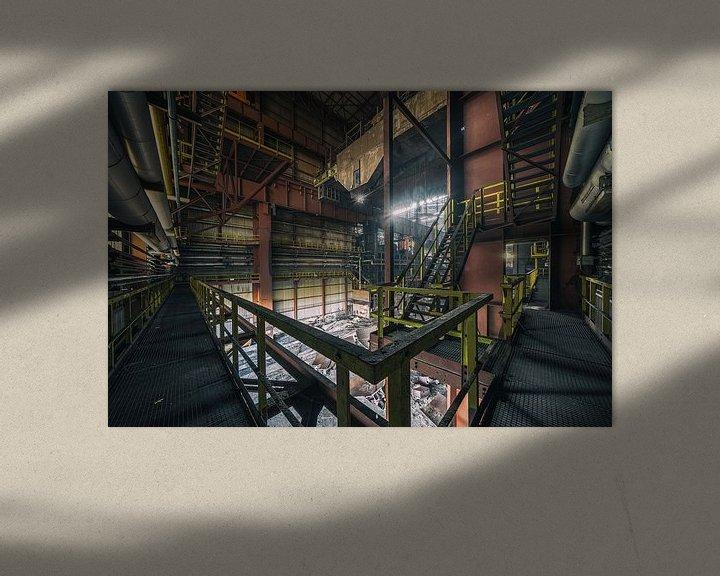 Beispiel: Urbex Standort Heavy Metal | Verlassene Orte von Steven Dijkshoorn