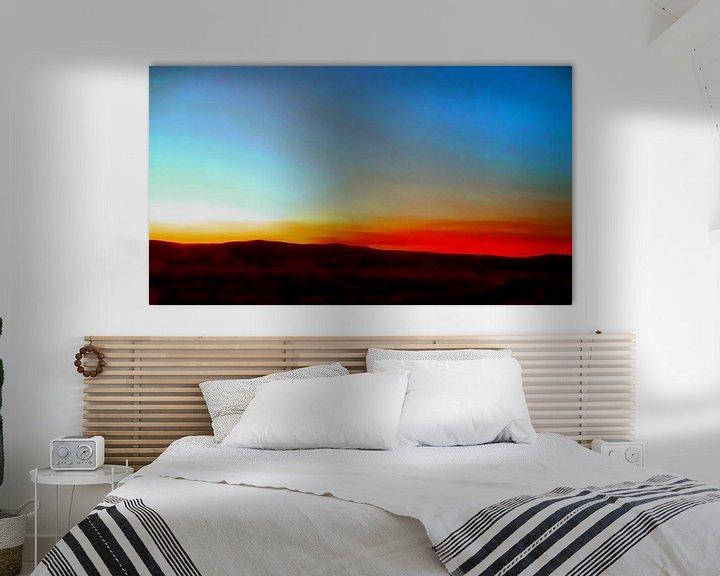 Sfeerimpressie: Sonnenaufgang van Peter Norden