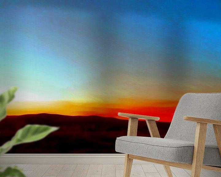 Sfeerimpressie behang: Sonnenaufgang van Peter Norden