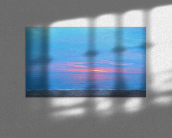 Sfeerimpressie: Sonnenaufgang 2 van Peter Norden