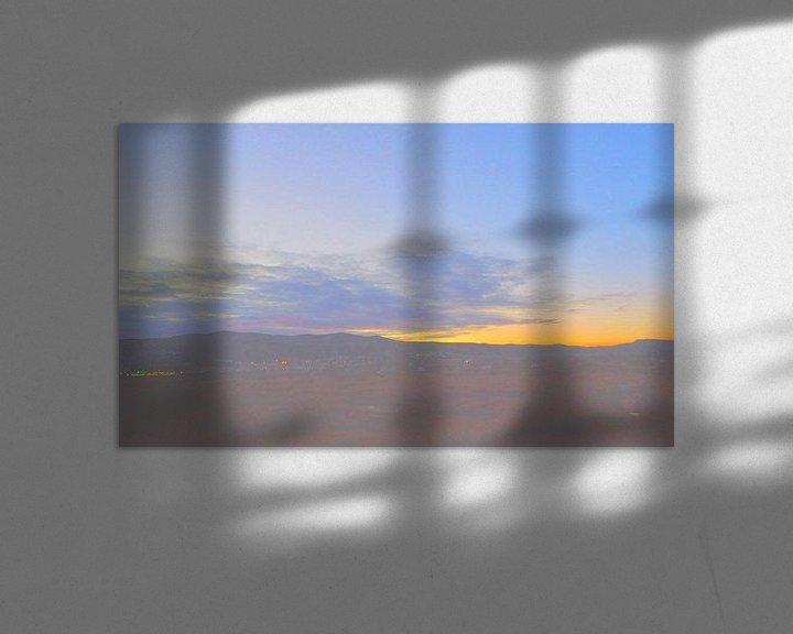 Sfeerimpressie: Sonnenuntergang 3 van Peter Norden