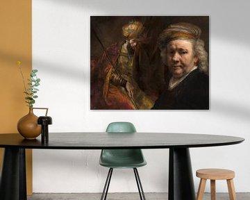 Saul und David mit Rembrandt von Eigenwijze Fotografie