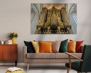 Organe Martinikerk Groningen sur Gerrit Veldman