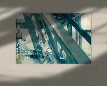 Eiffelturm 2. Stock von Bert-Jan de Wagenaar