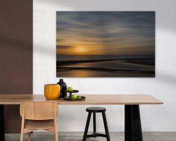 Zonsondergang Vlissingen von Ingrid Van Damme fotografie