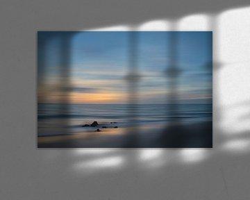 Vlissingen Long exposure tijdens Zonsondergang van Ingrid Van Damme fotografie