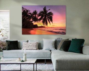 Droomstrand in Costa Rica van Markus Lange