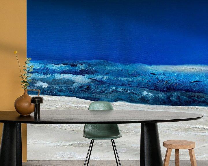 Beispiel fototapete: Abstract ocean von Andreas Wemmje