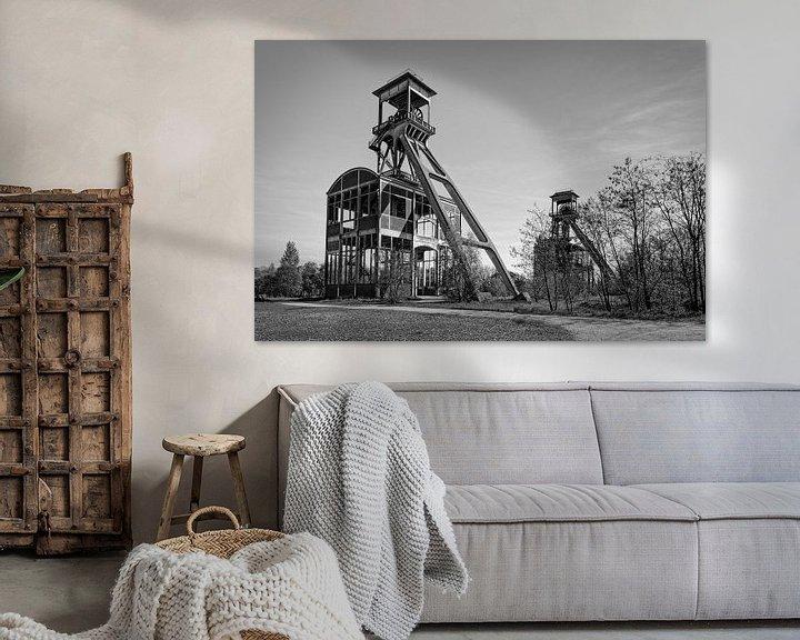 Beispiel: Elevatorschacht Bergwerk Eisden von Rob Boon