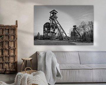 Elevatorschacht Bergwerk Eisden von Rob Boon