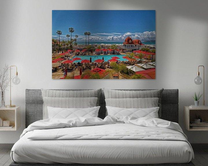 Beispiel: Hotel del Coronado in Coronado, Kalifornien , Vereinigte Staaten von Mohamed Abdelrazek