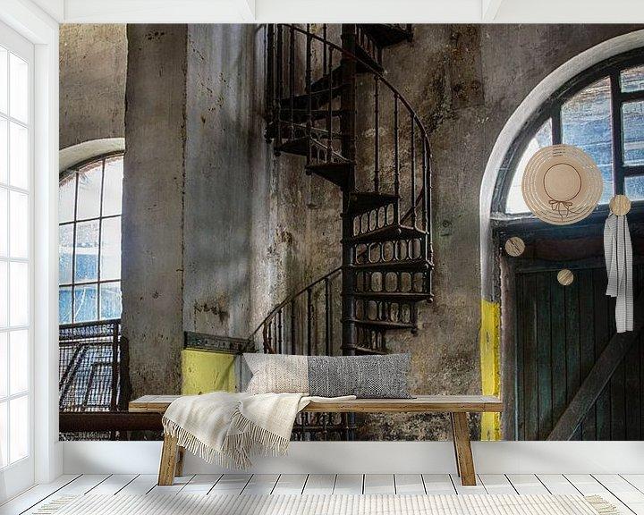 Beispiel fototapete: Treppe zum Himmel von Stijn Vanelderen