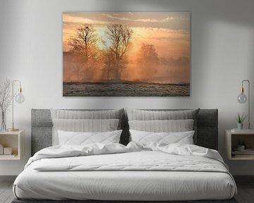 Mystische Landschaft von Wim Beunk